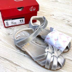 New See Kai Run Camila Silver Sandals